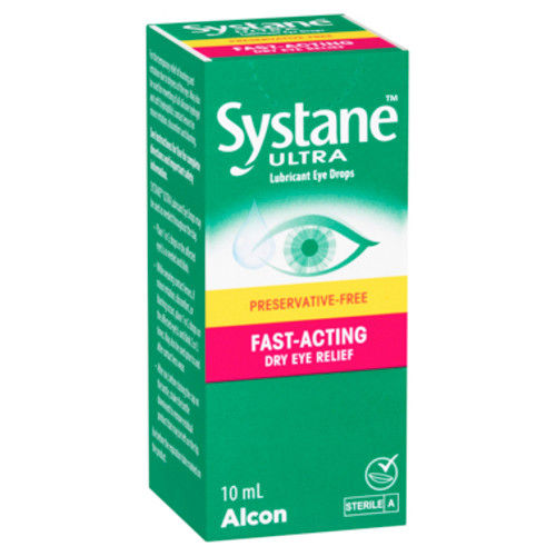 Systane Eye Drops Ultra 10ml at Blooms The Chemist