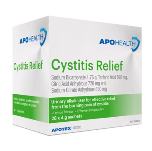 APOHealth Cystitis Relief Sachets 28pk