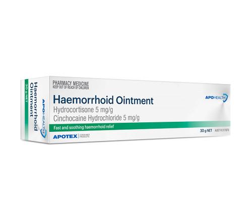 APOHealth Haemorrhoid Ointment Tube 30g