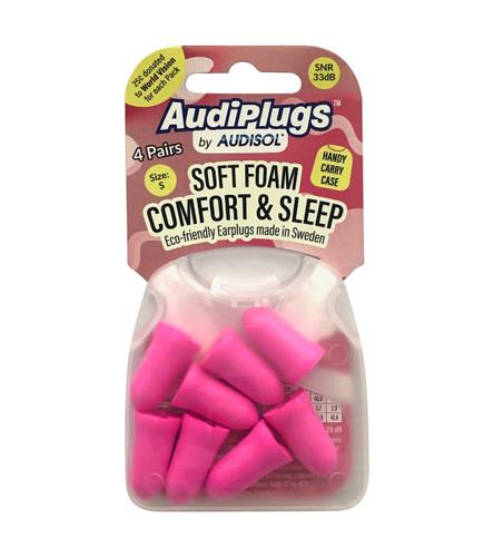 Audiplugs Soft Foam Comfort Ear Plugs 4 Pairs