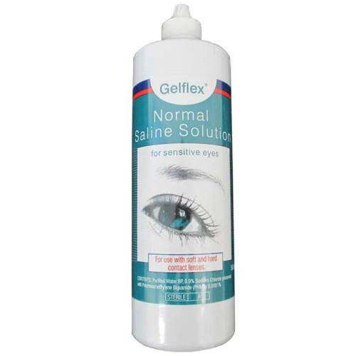 Gelflex Preserved Saline Contact Lens Solution 500ml