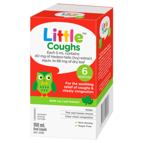 Little Coughs Oral Liquid Original 100mL at Blooms The Chemist