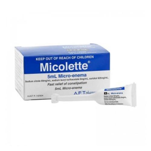 Micolette Micro Enema Tube 12pk