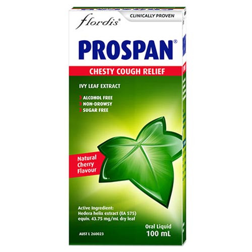 Prospan Chesty Cough Relief Kids 100ml