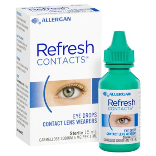 Refresh Contact Eye Drops 15ml