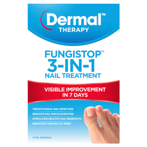 Dermal Therapy Fungistop 3-in-1 Nail Treatment 4mL