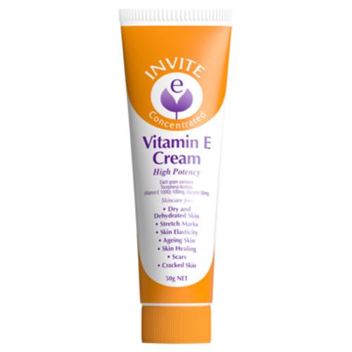 Invite E Cream 50g at Blooms The Chemist