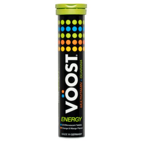 VOOST Energy Orange & Mango Flavour Effervescent Tablets 20 Pack