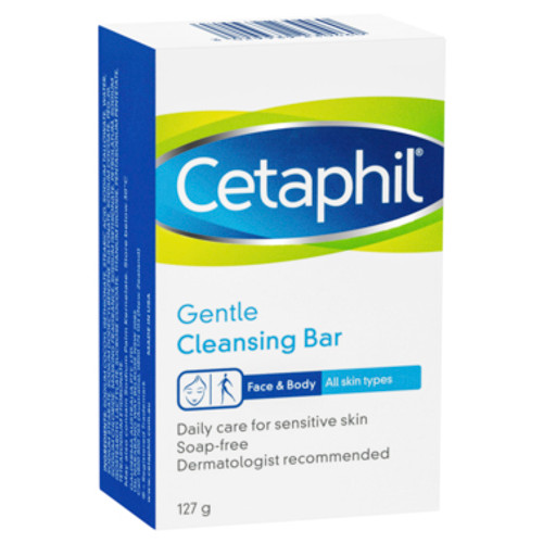 Cetaphil Gentle Cleansing Bar 127g at Blooms The Chemist
