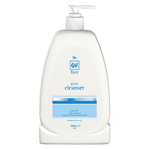 QV Soap free cleanser with Vitamin E 500g in Australia at Blooms The Chemist