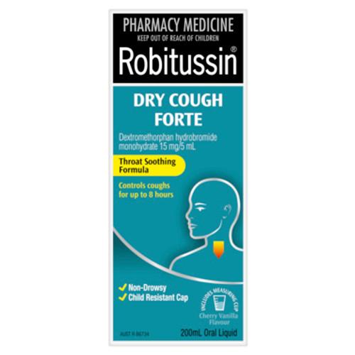Robitussin Dry Cough Forte Cough Liquid 200mL