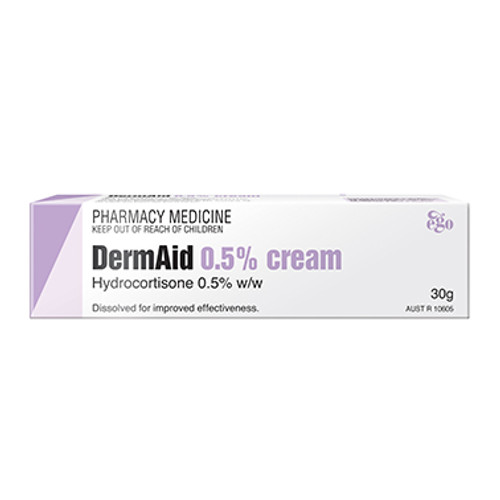 Dermaid 0.5% Eczema Cream 30G