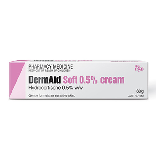 Ego Dermaid Soft 0.5% Cream 30G