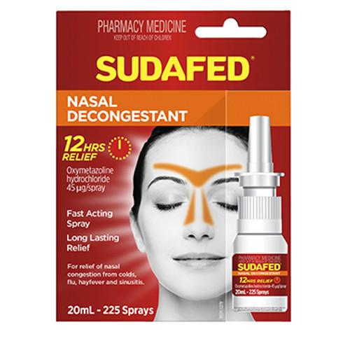 Sudafed Nasal Spray Pump 20ML