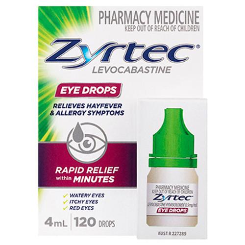 Zyrtec High Fever & Allergy Eye Drops 4ML