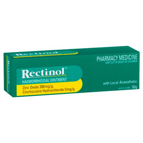 Rectinol Haemorrhoidal Ointment 50g