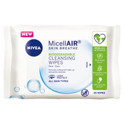NIVEA MicellAIR® Facial Cleansing Wipes