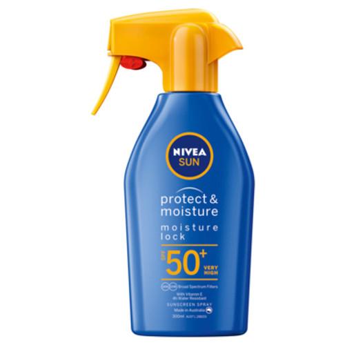 NIVEA Protect & Moisture Moisturising Sunscreen Lotion SPF50+ 300ml