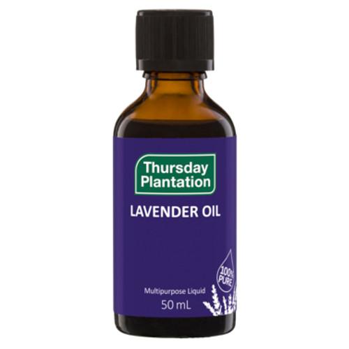 Thursday Plantation Lavender Oil Calming Multipurpose Liquid 50mL