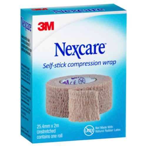 Nexcare Self Stick Compression Wrap 25mm