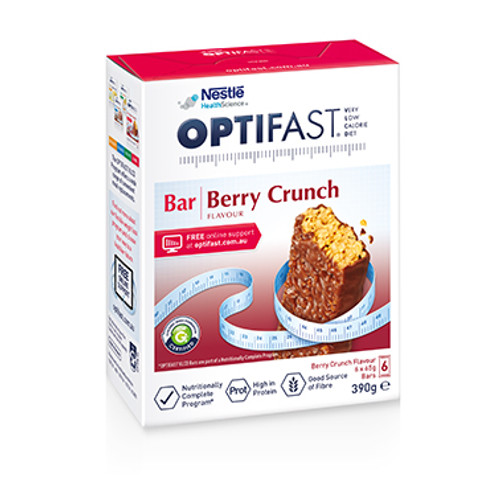 Optifast VLCD Berry Crunch Bars in Australia at Blooms The Chemist