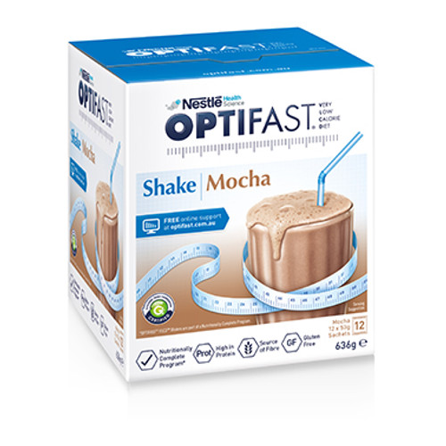 Optifast VLCD Mocha Shakes in Australia at Blooms The Chemist