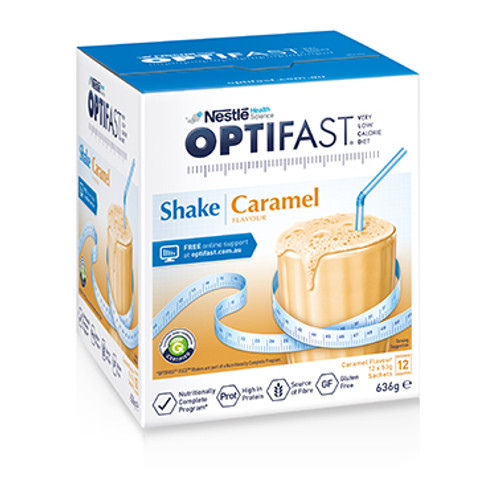 Optifast VLCD Caramel Shake in Australia at Blooms The Chemist