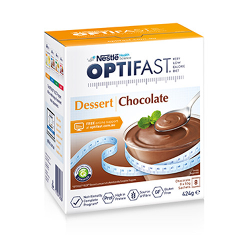 Optifast VLCD Dessert Chocolate in Australia at Blooms The Chemist