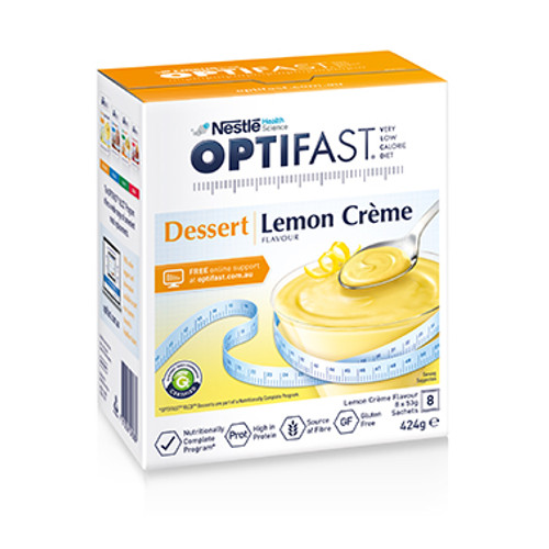 Optifast VLCD Lemon Dessert in Australia at Blooms The Chemist