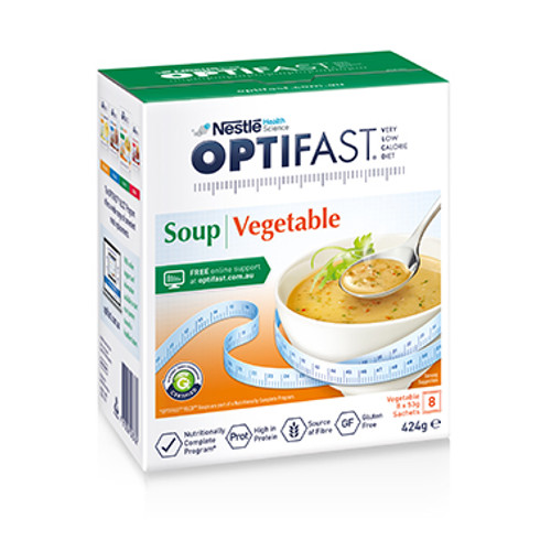 Optifast VLCD Vegetable Soup in Australia at Blooms The Chemist