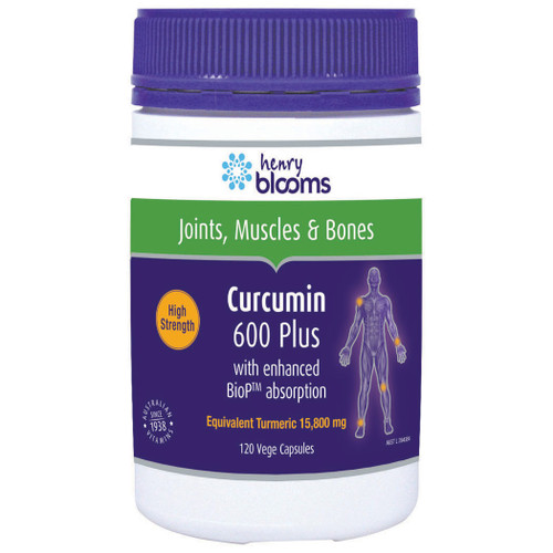 Henry Blooms Curcumin Plus in Australia at Blooms The Chemist
