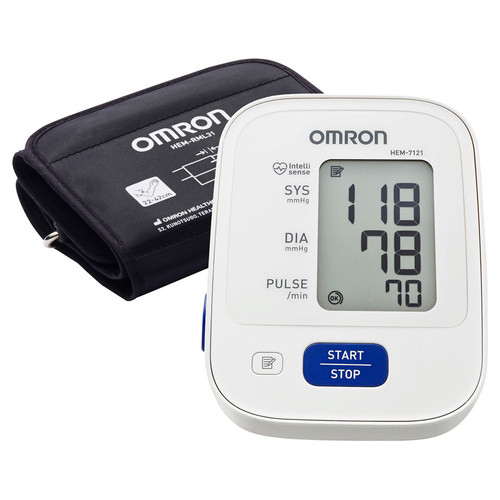 Omron HEM7121 Blood Pressure Monitor in Australia at Blooms The Chemist