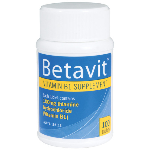 Betavit Vitamin B1 in Australia at Blooms The Chemist