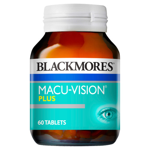 Blackmores Macu Vision Plus 60 Tablets at Blooms The Chemist