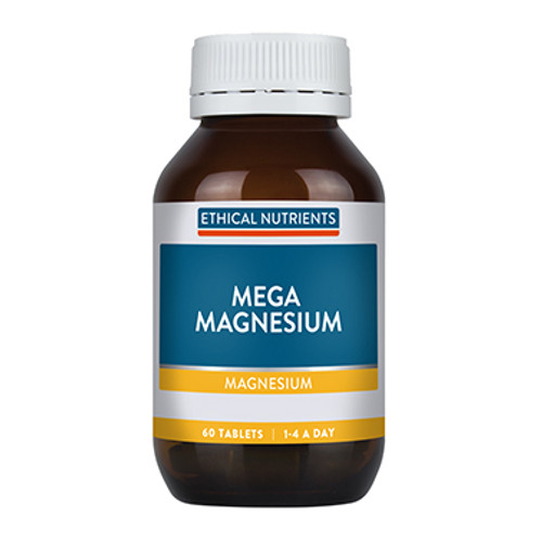 Ethical Nutrients Mega Magnesium 60 Tablets at Blooms The Chemist