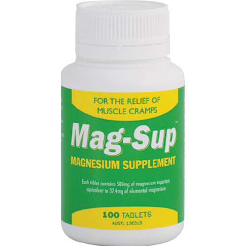 Mag-Sup Magnesium Tablets in Australia at Blooms The Chemist