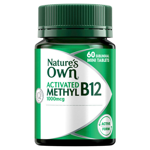 Nature's Own Activated Methyl B12 online at Blooms The Chemist