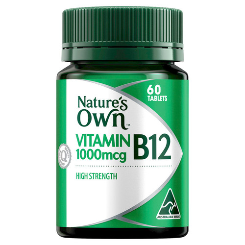 Nature's Own High Strength Vitamin B12 at Blooms The Chemist