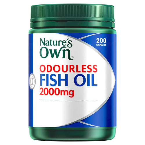 Nature's Own Odourless Fish Oil at Blooms The Chemist