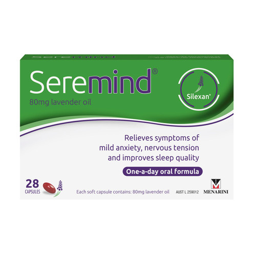 Seremind Lavender Oil in Australia online at Blooms The Chemist