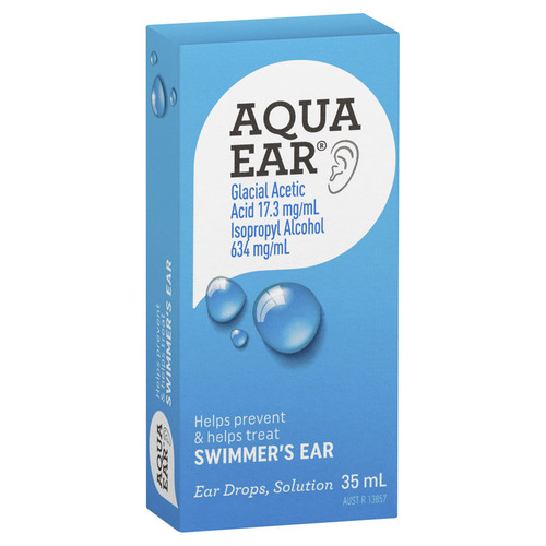 Aquaear Ear Drops 35ml in Australia at Blooms The Chemist