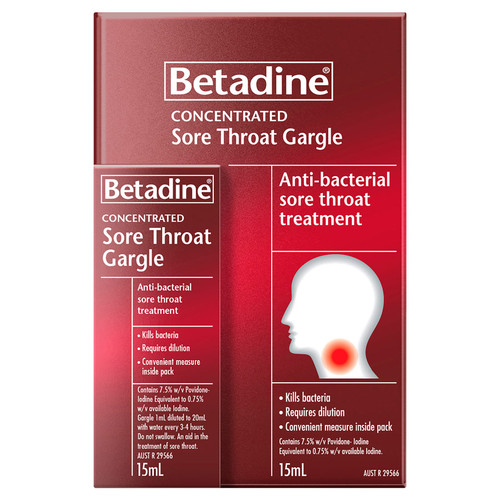 Betadine Sore Throat online at Blooms The Chemist