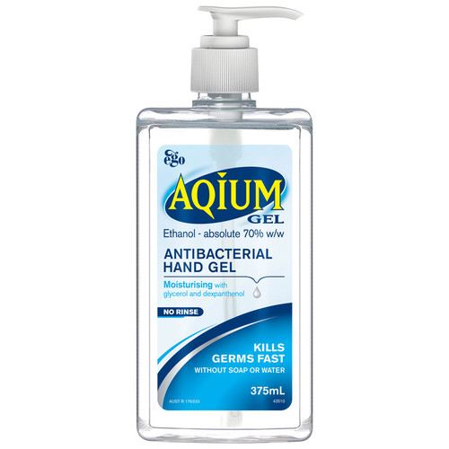 Ego Aqium Hand Sanitiser online at Blooms The Chemist