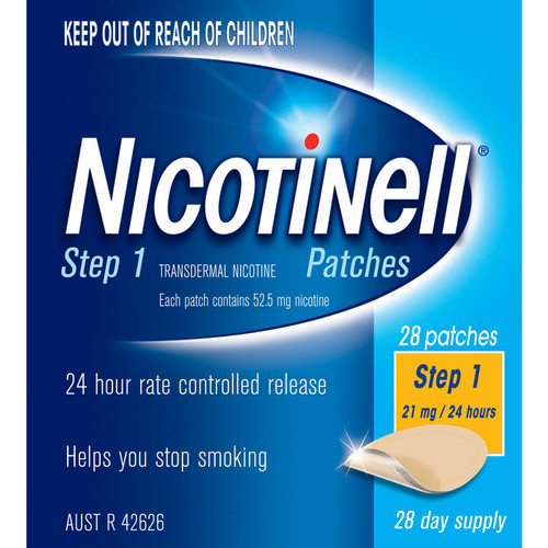 Nicotinell Patch 21mg - 28 Pack  1