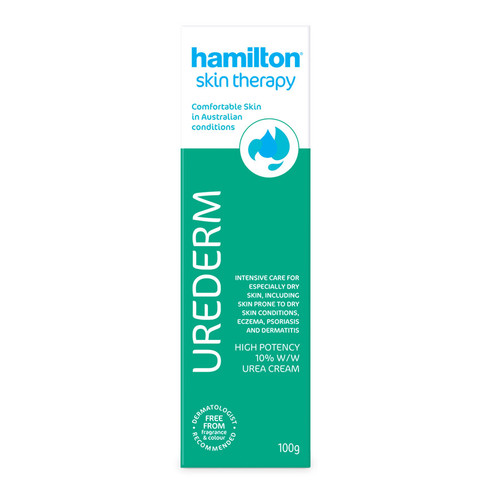 Hamilton Urederm Cream 100g at Blooms The Chemist online