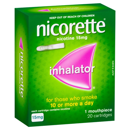 Nicorette Inhalator in Australia at Blooms The Chemist