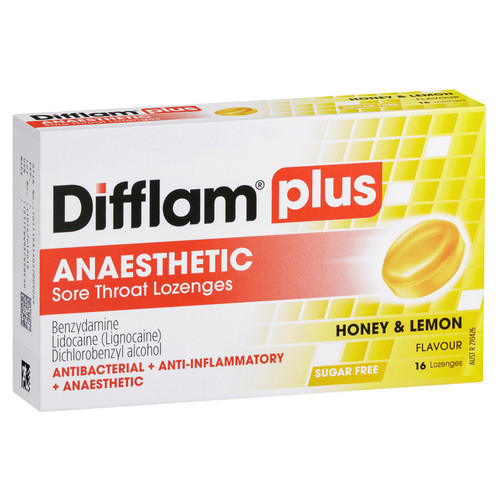 Difflam Plus Anaesthetic online at Blooms The Chemist