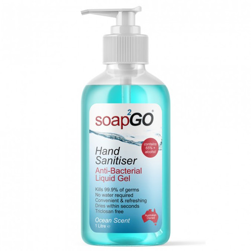 Soap2GO Hand Sanitiser Antibacterial Gel online at Blooms The Chemist