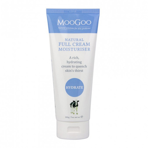 MooGoo Full Cream Moisturiser 200g at Blooms The Chemist