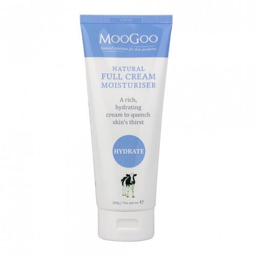MooGoo Full Cream Moisturiser 200g at Blooms The Chemist